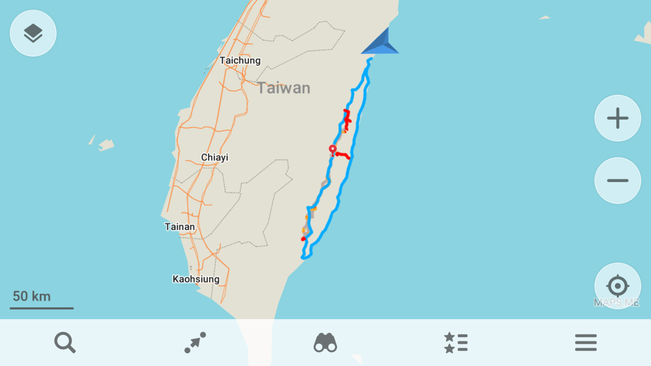 Day 0 (02/02/2020): Taiwan Camino – Travel from Tokyo to Hualien
